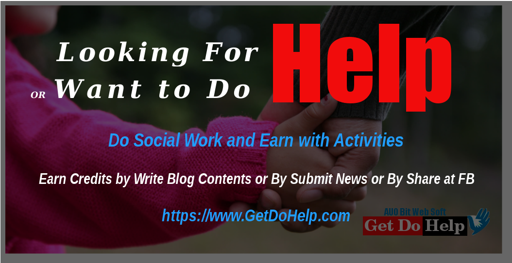 Introducing Get Do Help Portal to Support Needy and Poor People Worldwide