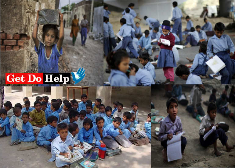 Learn How to Help Poor Students in India by Get Do Help