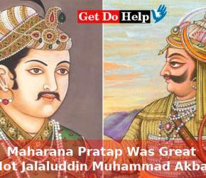 India's Greatest Legend is Maharana Pratap not Jalaluddin Muhammad Akbar