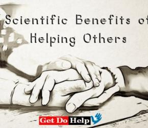 Scientific Benefits of Helping Others