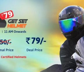Flash Sales on Helmet, Get Set Helmet Deals | Droom
