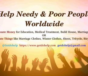 Extend Your Hands to Offer Sharing and Caring Towards the Needy & Poor People