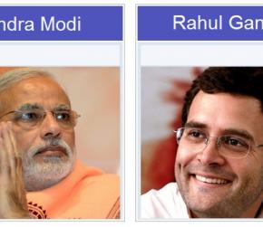 Brief Information about Challenging Leaders of India (Narendra Modi & Rahul Gandhi Special)