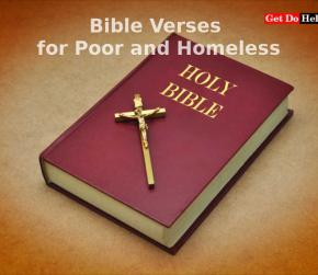 Bible Verses about the Poor and Homeless : Words of Hope and Wisdom