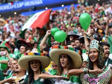FIFA World Cup 2018: Mexican Wave Washes Over Moscow As Vibrant Fans Celebrate Team's Victory Over Germany