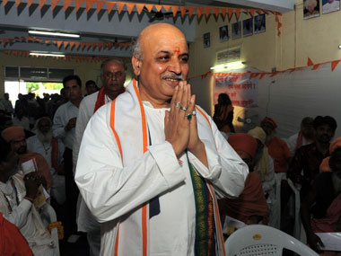 Ex-VHP leader Pravin Togadia launches new Hindutva outfit; says law for building Ram Temple in Ayodhya is on group's agenda