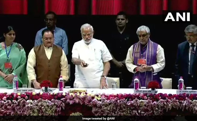PM Modi Visits Atal Bihari Vajpayee At AIIMS, Inaugurates New Block