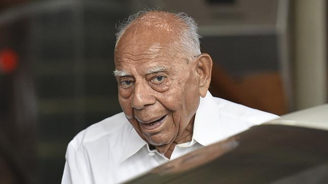 Ram Jethmalani just said his only aim in life is to get rid of Modi
