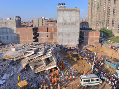 Two buildings collapse in Greater Noida: 8 killed, several feared trapped under rubble; landowner, 3 others arrested