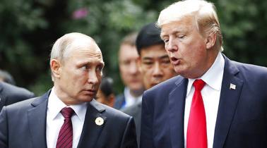US senators push sanctions to send Putin election meddling warning