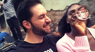 Serena Williams wanted Italian food so husband Alexis Ohanian flew her to Venice