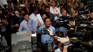 Cambodia wakes to another era of Hun Sen rule after 'flawed' election