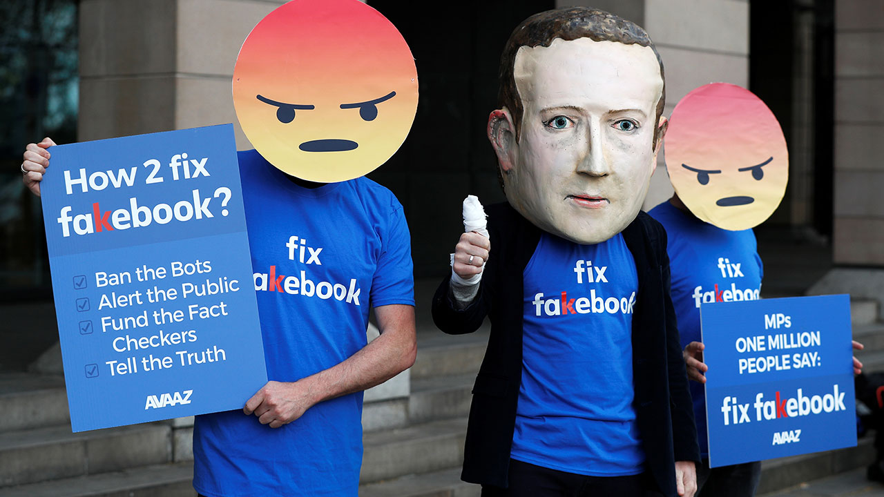 Facebook's fight against misinformation in News Feed is a human problem as much as it is Facebook's
