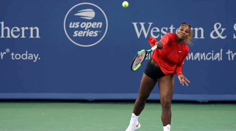 Serena Williams dominates in return at Cincinnati Masters