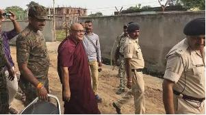 Humein yahan se nikalo: Child in Gaya told visiting monk