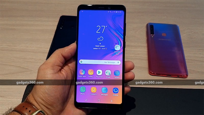 Samsung Galaxy A9 (2018) With Quad Rear Camera Setup, Infinity Display Launched in India: Price, Specifications