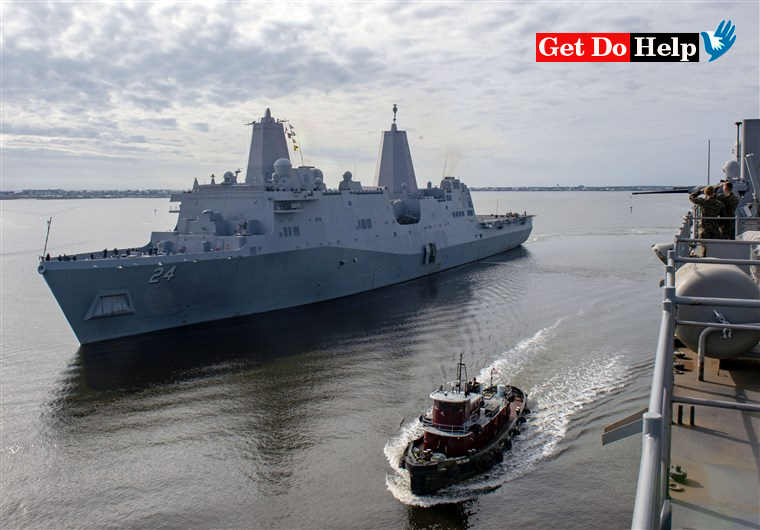 US Sends Missile System And Ship To Middle East