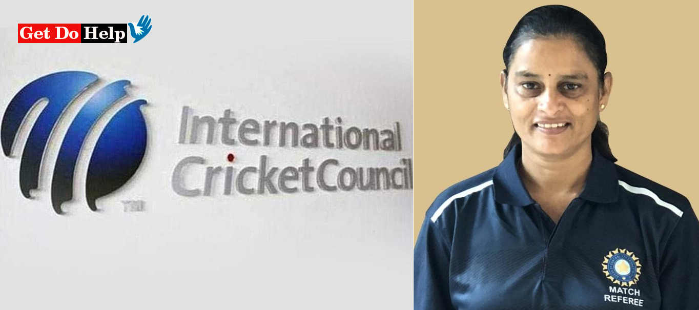 Lakshmi Becomes First Female ICC Match Referee