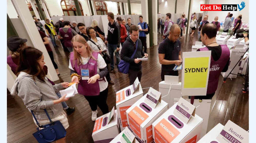 Australian Election: Voting On The Way