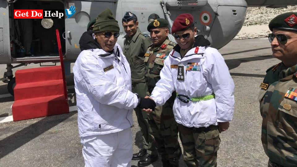 As new defence minister, Rajnath to visit Siachen today with Army chief