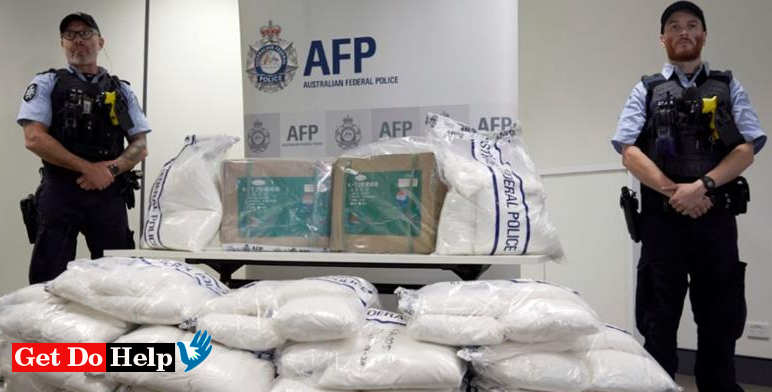 1.6 tonnes drug 'ice' seized by Australian police