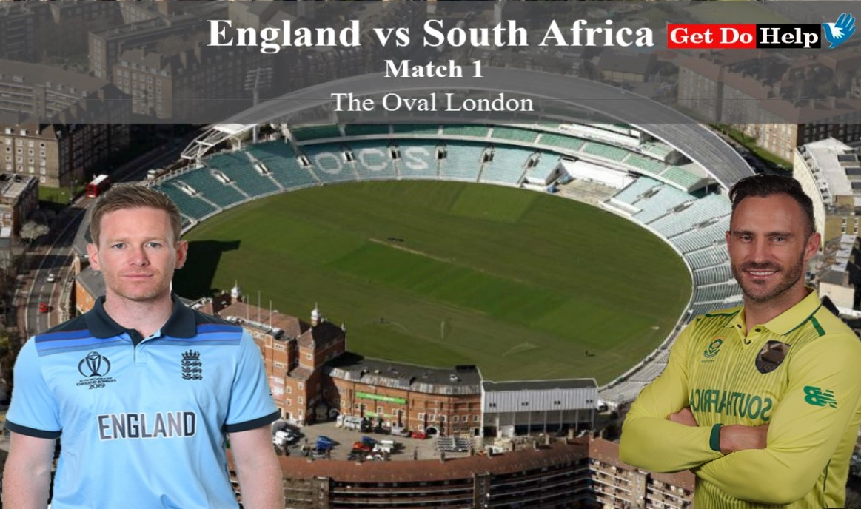 ICC World Cup 2019 England vs South Africa, Match 1 - Live Cricket Scorecard