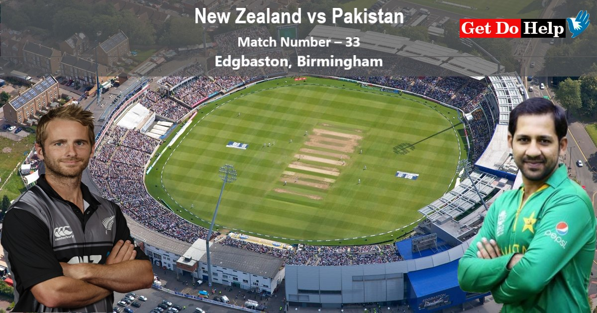 ICC World Cup 2019 - Match 33, New Zealand vs Pakistan, Match Prediction and Tips
