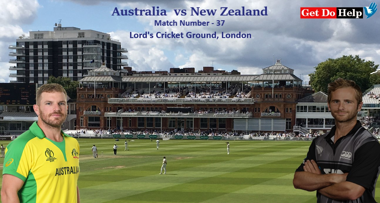 ICC World Cup 2019 - Match 37, Australia vs New Zealand, Match Prediction and Tips