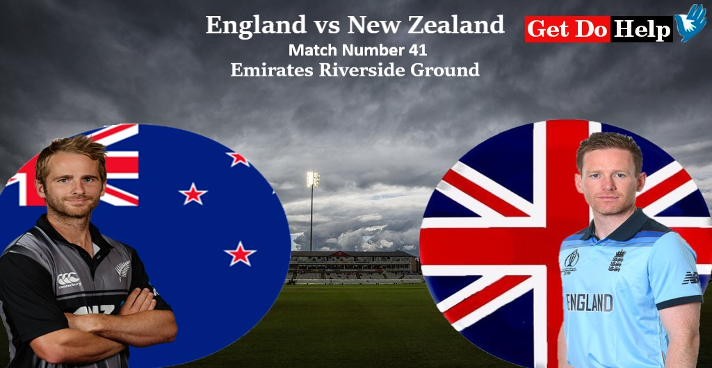 ICC World Cup 2019 - Match 41, England vs New Zealand, Match Prediction and Tips
