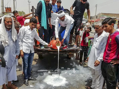 Farmers go on 10-day strike, vegetable supplies take the hit