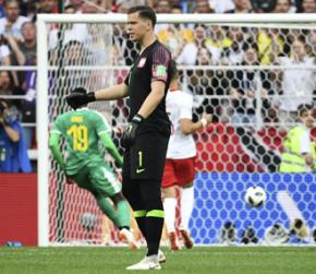 FIFA World Cup 2018: Polish keeper Wojciech Szczesny's error helps Senegal become first African team to win at tournament