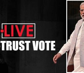 No-confidence motion in Parliament LIVE UPDATES: Lok Sabha to debate no-trust vote, Modi-led NDA confident of numbers
