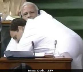 "Shiv Sena Praises Rahul Gandhi, Says His Hug Was ""Shock"" For PM Modi"