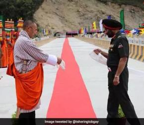 India's Border Roads Organisation Completes Strategic Road In Bhutan