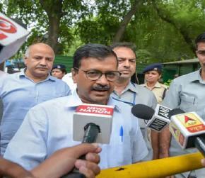 Modi Government Killing Independent Media: Arvind Kejriwal