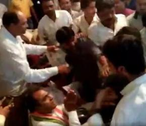 """""""Learn Discipline From RSS,"""" Said Congress Leader As Partymen Fought"""