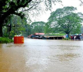 Karnataka: Cauvery River above danger mark in Madikeri as torrential rains disrupt normal life