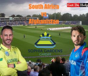 ICC World Cup 2019 - Match 21 South Africa vs Afghanistan, Match Prediction and Tips