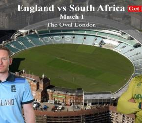 ICC World Cup 2019 England vs South Africa, Match 1 - Live Cricket Scorecard