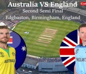 ICC World Cup 2019 - Second Semi Final, Match - 47, Australia vs England, Match Prediction and Tips