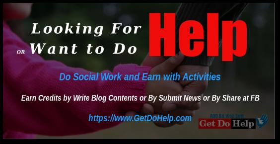 Support/Help Get Do Help Team to Support Needy People Online Worldwide