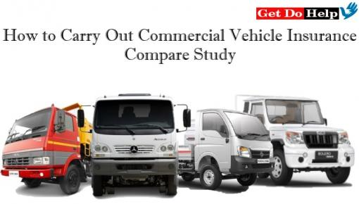 How to Carry Out Commercial Vehicle Insurance Compare Study
