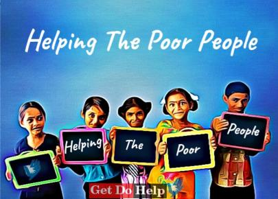 Helping The Poor People