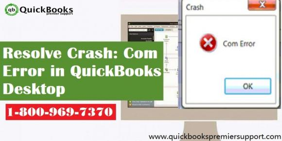 Fix QuickBooks Com Error Crash in QuickBooks Desktop
