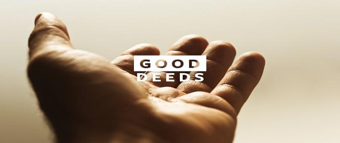 Giving Multiplies Your Good Deeds