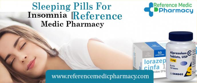 Sleeping Pills For Insomnia | Reference Medic Pharmacy