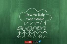 How to Help Poor People - Essay