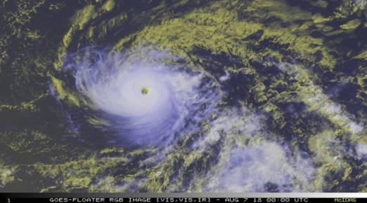 Hawaii's Big Island readies as Hurricane Hector approaches