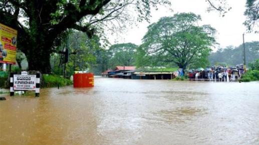 Karnataka: Cauvery River above danger mark in Madikeri as torrential rains disrupt normal life