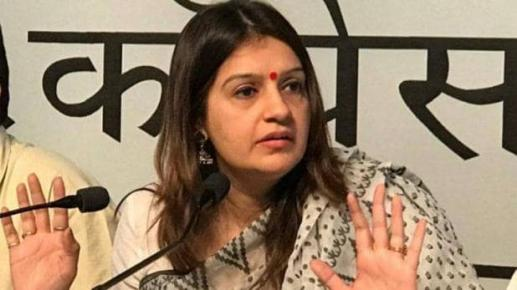 Priyanka Chaturvedi Said Congress prefer abusive behaviour by congress workers